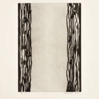 """Ian McKeever """"Standing"""" (svart)"""
